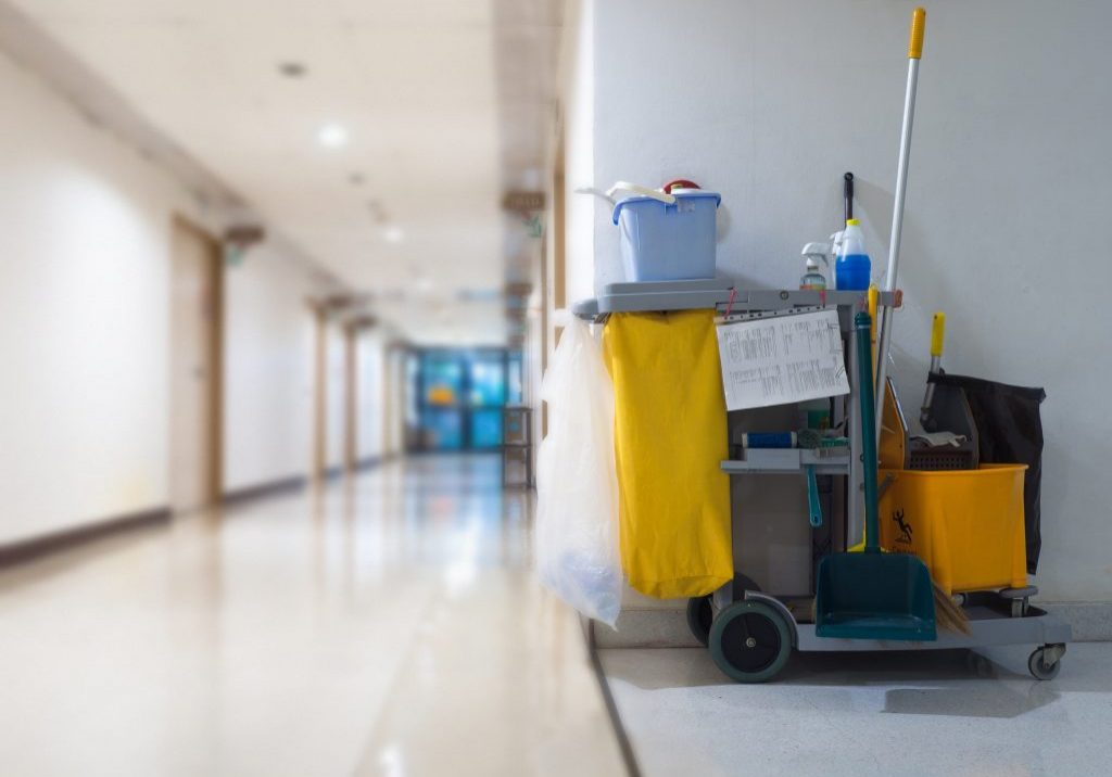 hospital janitor jobs