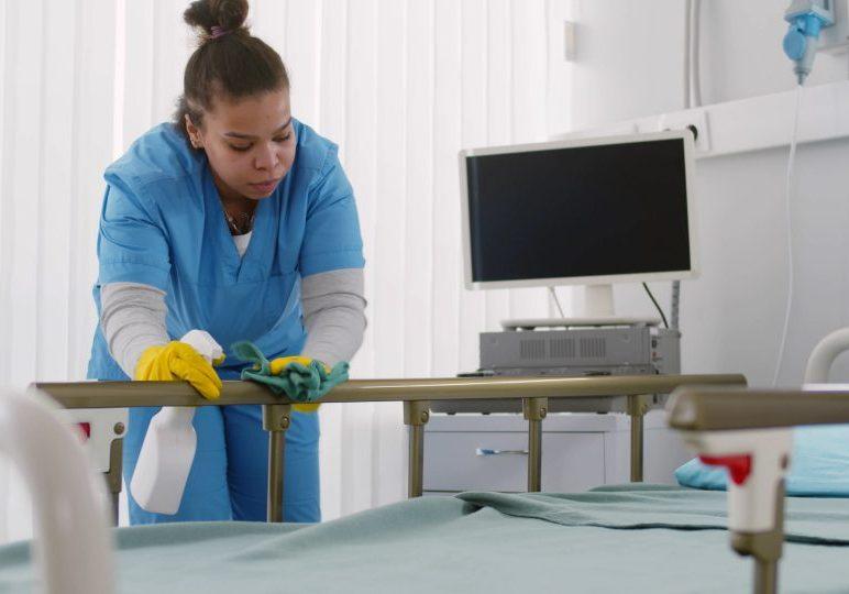 hospital housekeepers
